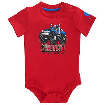 Carhartt Infant/Toddler Boys Out Run Them All Short-Sleeve T-Shirt