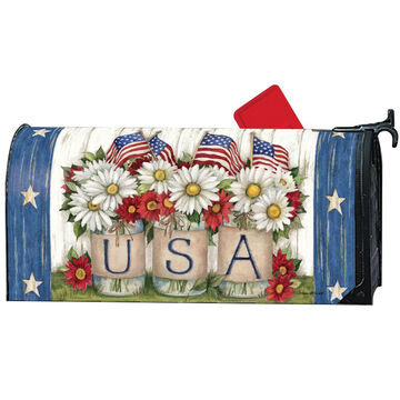 MailWraps USA Mason Jar Magnetic Mailbox Cover