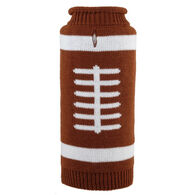 The Worthy Dog Touchdown Roll Neck Dog Sweater