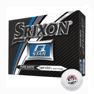Srixon Q-Star KTP 80th Logo Golf Balls - 12 Pk.