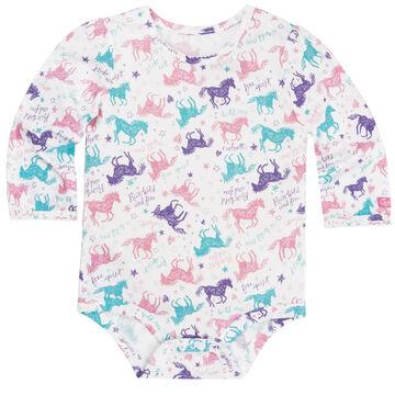 Carhartt Infant/Toddler Girls' Run Wild and Free Bodyshirt
