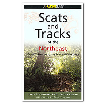 Scats and Tracks of the Northeast by James Halfpenny