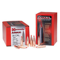 "Hornady A-Max 30 Cal. 168 Grain .308"" BT Rifle Bullet (100)"