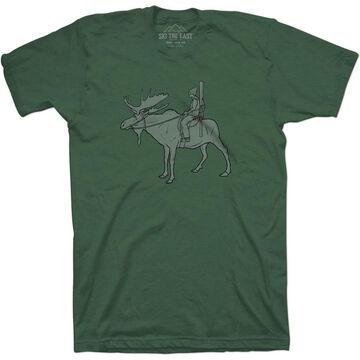 Ski The East Mens Powder Ranger Short-Sleeve T-Shirt