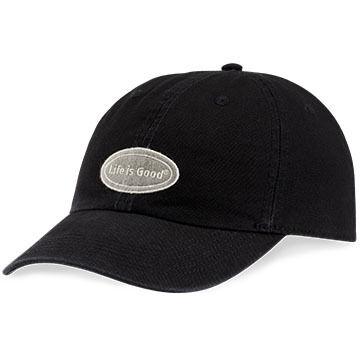 Life is Good Men's LIG Oval Chill Cap - Night Black