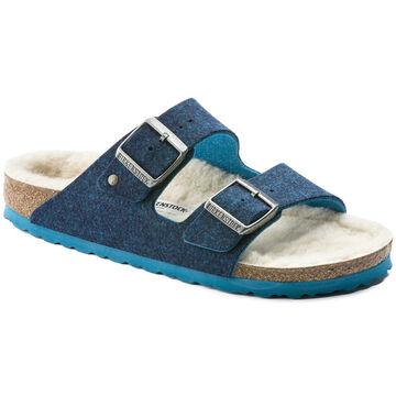 Birkenstock Womens Arizona Wool Felt Lined Sandal