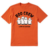 Life is Good Men's Boo Crew Crusher Short-Sleeve T-Shirt