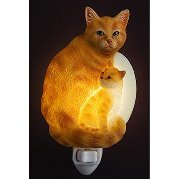 Ibis & Orchid Design Tabby Cat Nightlight