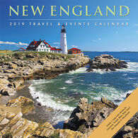 Willow Creek Press New England 2019 Wall Calendar