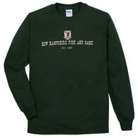 NH Fish and Game Men's Badge Long-Sleeve T-Shirt