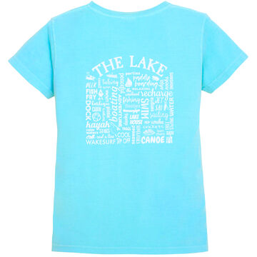 Where Life Takes You Womens Lake Activity Short-Sleeve T-Shirt