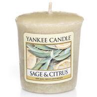 Yankee Candle Sampler Votive Candle - Sage & Citrus
