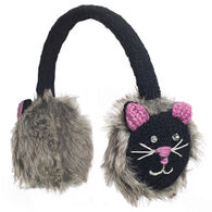 Knitwits Boys' & Girls' Kiki The Kitty Earmuff