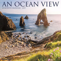 Willow Creek Press Ocean View 2019 Wall Calendar