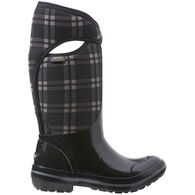 Bogs Women's Plimsoll Plaid Tall Insulated Boot