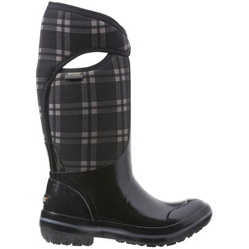 Bogs Womens Plimsoll Plaid Tall Insulated Boot