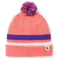 Smartwool Youth Stripe Pom Beanie