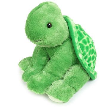 """Aurora Turtle 14"""" Plush Stuffed Animal"""