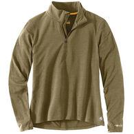 Carhartt Women's Force Delmont Quarter-Zip Long-Sleeve Shirt