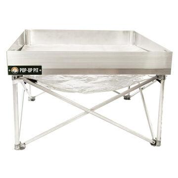 Fireside Outdoor Pop-Up Pit & Heat Shield Combo