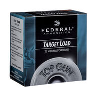 "Federal Top Gun Target 12 GA 2-3/4"" 1-1/8 oz. #8 Shotshell Ammo (25)"