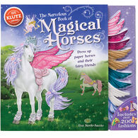 Klutz The Marvelous Book of Magical Horses Book Kit by Eva Steele-Saccio