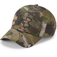 Under Armour Men's Camo Big Flag Logo Hat