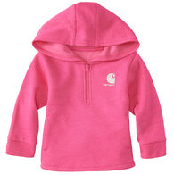 Carhartt Infant/Toddler Girls' Heather Fleece Sweatshirt