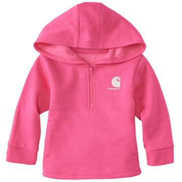 Carhartt Infant/Toddler Girls Heather Fleece Sweatshirt