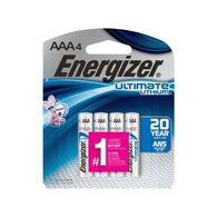 Energizer Ultimate Lithium AAA Battery - 4 Pk.