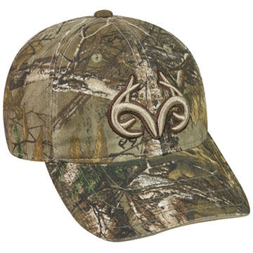 Outdoor Cap Mens Realtree Antler Logo Cap