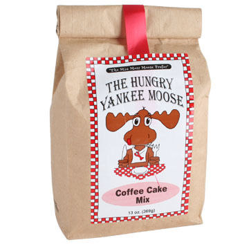 Hungry Yankee Moose Coffee Cake Mix, 13 oz