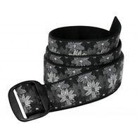 Bison Designs Women's 38mm Manzo Buckle Flower Belt