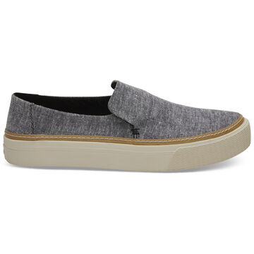 TOMS Womens Chambray Sunset Slip-On Shoe