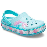 Crocs Girl's Fun Lab Mermaid Band Clog