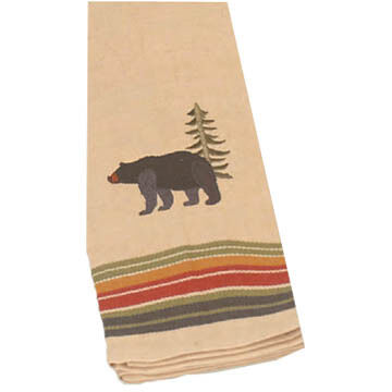 Kay Dee Designs Bear Embroidered Tea Towel
