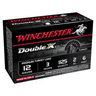 "Winchester Double X 12 GA 3"" 2 oz. #6 Shotshell Ammo (10)"