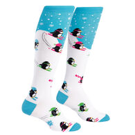 Sock It To Me Women's Downhill Penguins Sock
