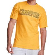 Champion Men's Heritage Block Puff Print Short-Sleeve T-Shirt