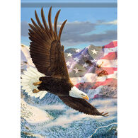 Carson Home Accents Flagtrends Height Of Freedom Garden Flag