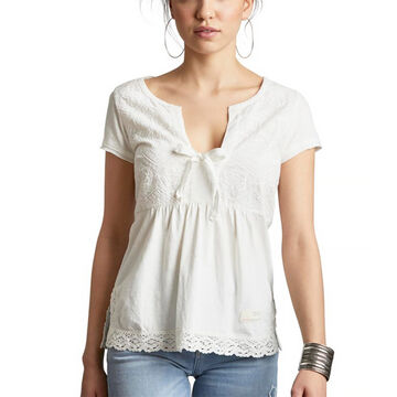 Odd Molly Womens Lets Love Short-Sleeve Top