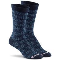 Fox River Mills Women's Snowflake Ultra Lightweight Crew Sock