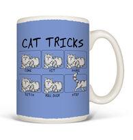 Earth Sun Moon Stubborn Cat Tricks Mug