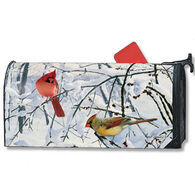 MailWraps Winter Morning Cardinals Mailbox Cover