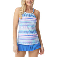Beach House - Swimwear Anywear Women's Blair Beachy Keen High Neck Tankini Top Swimsuit