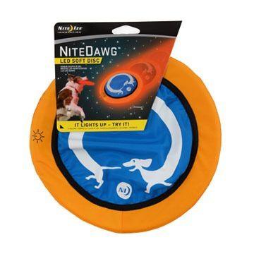 Nite Ize Nite Dawg LED Soft Disc Dog Toy