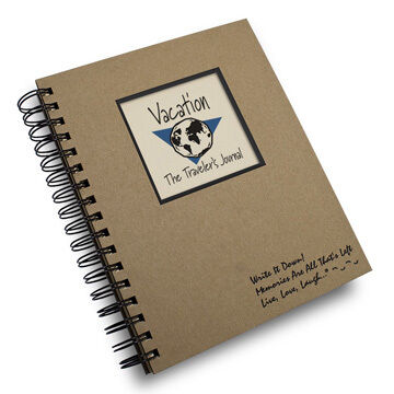 "Journals Unlimited ""Write it Down!"" Vacation Journal"