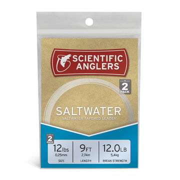 Scientific Anglers Saltwater Leader - 2 Pk.