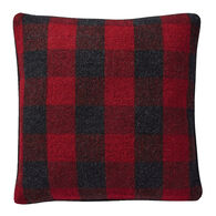 Pendleton Woolen Mills Rob Roy Reversible Double Weave Wool Toss Pillow