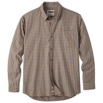 Mountain Khakis Men's Spalding Gingham Long-Sleeve Shirt